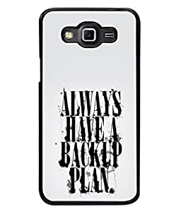PrintVisa Play Safe High Gloss Designer Back Case Cover for Samsung Galaxy Grand Max G720
