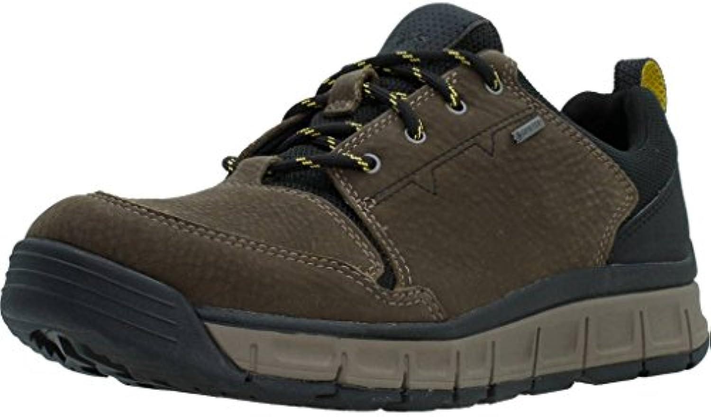 Clarks Casual Hombre Zapatos Edlund Base Gore-Tex® En Nobuk Verde -