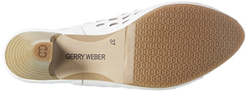 GERRY WEBER Damen Kitty 04 Pumps Weiß (weiss)