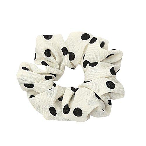 LILIHOT Frauen elastisches Haar Seil Ring Krawatte Scrunchie Pferdeschwanz Inhaber Haarband Stirnband Samt Haargummis Dicke Mädchen Haarbänder Gummiband Haarschmuck Haar Accessoires Haargummi -