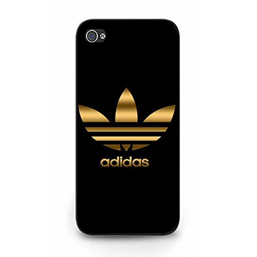 Perfect Fit Visual Protective Cover Case Adidas Logo Phone Case for Iphone 5/5s Luxury Adidas Mark Pattern Cover Color1088