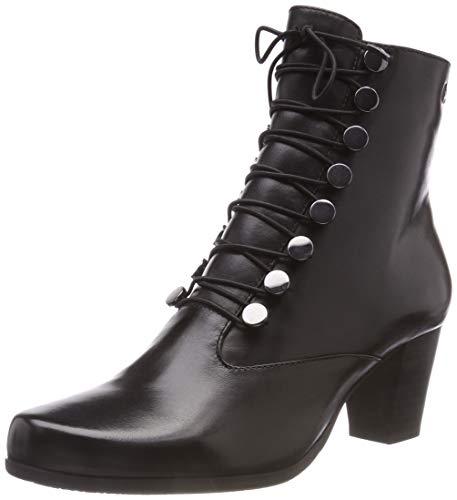 GERRY WEBER Shoes Damen Louanne 14 Stiefeletten, (Schwarz 100), 39 ()