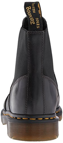 Dr.Martens Mens Hardy Leather Boots Gunmetal