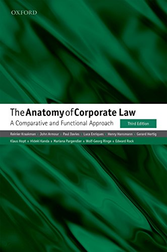 The Anatomy of Corporate Law: A Comparative and Functional Approach (English Edition)