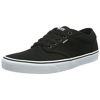 Vans Atwood Herren Sneakers, Schwarz (Blk/Wht 187), Gr. 43 EU / 9 UK
