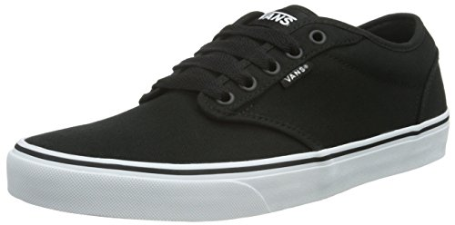 Vans Atwood, Sneaker Uomo, Nero (Canvas/Black/White), 40 EU
