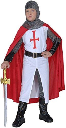 WIDMANN 55497 - Costume da Guerriero Crociato, in Taglia 8/10 Anni