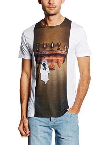 dirk-bikkembergs-camiseta-manga-corta-hielo-marron-l