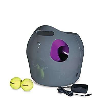 PetSafe Automatic Ball Launcher, Tennis Ball Throwing Machine for Dogs, NEW FRUSTRATION-FREE PACKAGING from Radio Systems Corporation