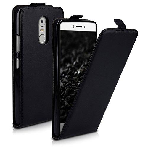 kwmobile Lenovo K6 Note Hülle - Handyhülle für Lenovo K6 Note - Handy Case Flip Schutzhülle