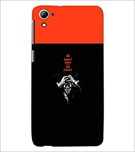 PrintDhaba Quote D-5745 Back Case Cover for HTC DESIRE 826 (Multi-Coloured)