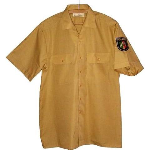 Camicia a maniche corte della polizia Police Uniform easybiz camicia Bambusgr taglia 47/48