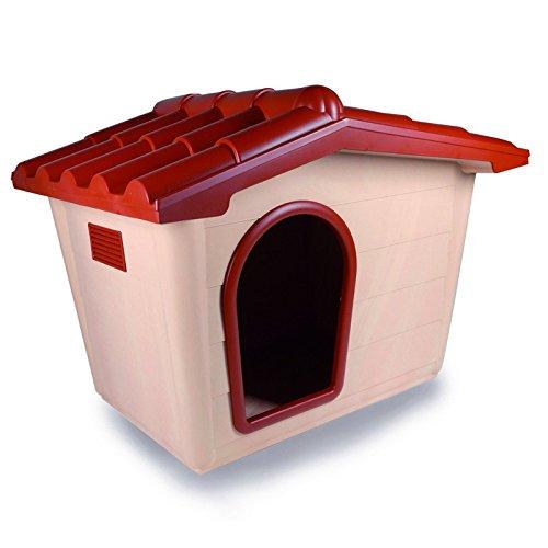 Cuccia per cani gatti sprint media casetta da 2/8 kg cuccioli giardino smontabile 57x78x64 cm
