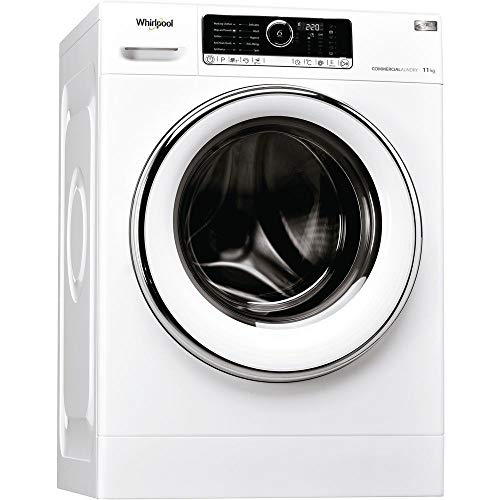 Whirlpool AWG1112/PRO Omnia 11Kg 1200 Spin 6Th Sense Washing Machine In White