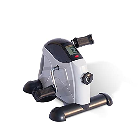 HOMCOM Portable Mini Exercise Bike Fitness Training Adjustable Knob for