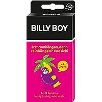 Billy Boy nasichi 6er und 2 Gratis (farbig, fruchtig, extra feucht) pink - Faultier, 2er Pack (2 x 8 Stück) preisvergleich bei billige-tabletten.eu