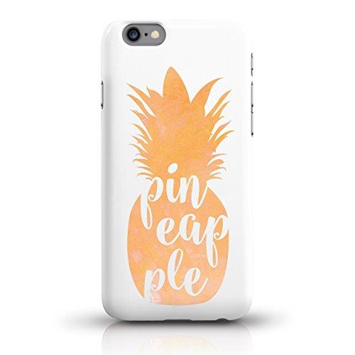"""JUNIWORDS Handyhüllen Slim Case für iPhone 6 / 6s - Motiv wählbar - """"Anker Design 1 Dunkelblau"""" - Handyhülle, Handycase, Handyschale, Schutzhülle für Ihr Smartphone Ananas Design 3 Orange"""