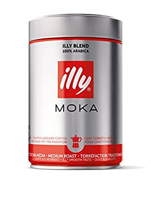 illy Moka Ground Coffee Medium Roast, 250 g from Illycaffee S.P.A. Niederlassung Deutschland