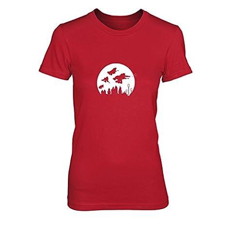 Potter Moon - Damen T-Shirt, Größe: S, Farbe:
