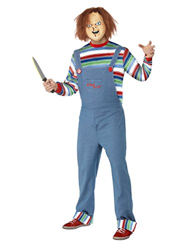 Mens Chucky Killer Outfit, Large, CHEST 42 - 44