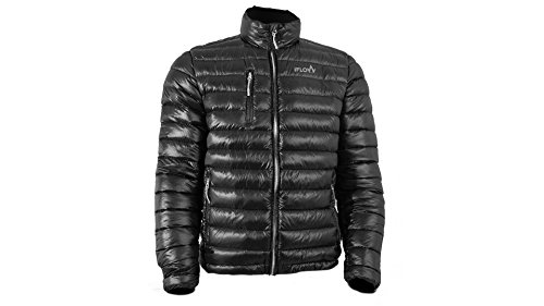 iFLOW Herren Superlight Black Man Jacke, Black/Grey, M (Alpin Iq-ski)
