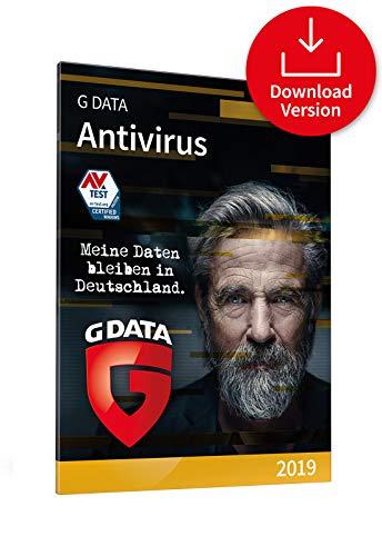 G DATA Antivirus 2019 für 3 Windows-PC / 1 Jahr / vielfach ausgezeichneter Virenscanner / Antivirensoftware / Trust in German Sicherheit [Download]