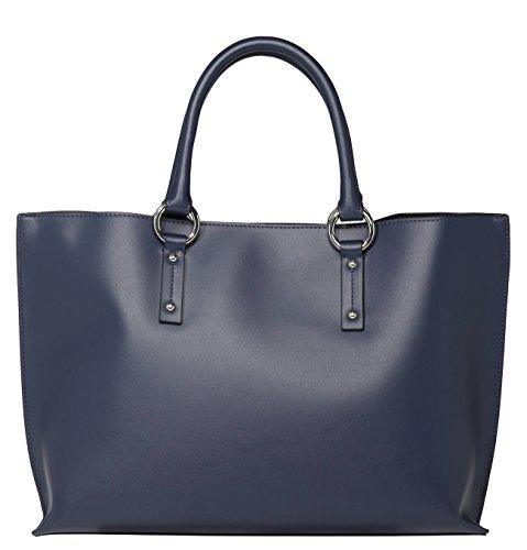 Armani Jeans  922567, Cabas pour femme bleu bleu nuit B 43 x H 27 x T 11 bleu nuit