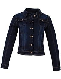Suchergebnis auf Amazon.de für  damen jeansjacke dunkelblau denim ... f824c2e47a