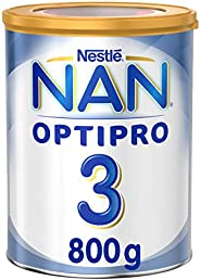 Nestle NAN OPTIPRO Stage 3, 1 to 3 Years, Powder Milk Tin, 800gm (Pack of 1)