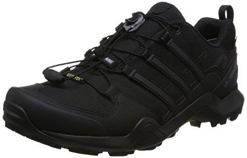 adidas Terrex Swift R2 GTX, Chaussures de Randonnée Basses Homme, Noir (Negbas 000), 44 EU