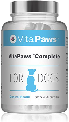 VitaPaws Formula completa per cani - 180 capsule facili da aggiungere al cibo - SimplySupplements