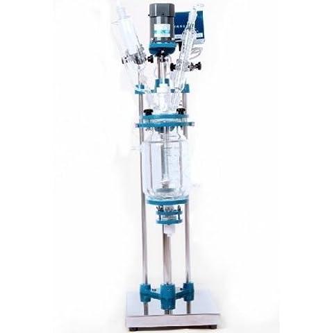 gr-tech Instrument® 2L en verre affichage numérique chimique Lab 455réacteur Vessel 110V ou 220V