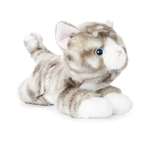 Aurora World 11-Inch Luv to Cuddle Tabby Cat Plush (Grey)