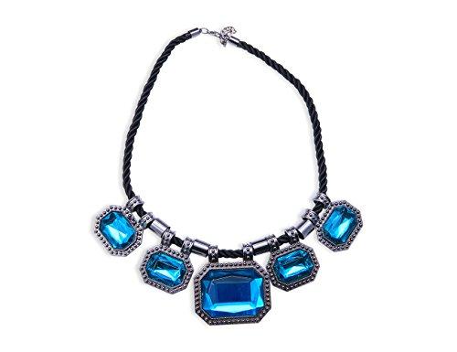 Preisvergleich Produktbild Original Enez XXL Halskette Blogger Necklace Choker Collier 48cm T285