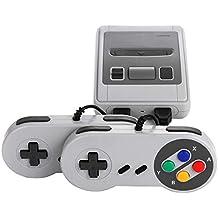 Mini console HDMI Retro Classic - fournie avec deux poignées de commande - 621 jeux vidéo classiques intégrés