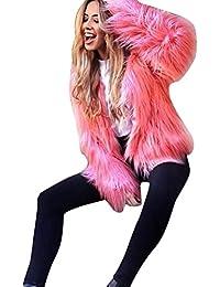 Suchergebnis auf Amazon.de für  Fellimitat Jacke - Rot  Bekleidung 60fc46905f