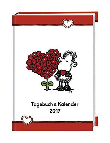 sheepworld Tageskalenderbuch A6 - Kalender 2017