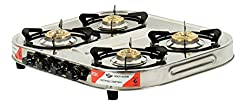 Olly 4 BURNER GAS STOVE DELTA