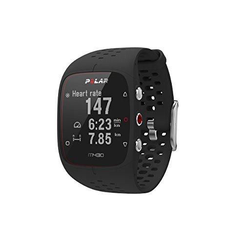 Polar Unisex- Erwachsene M430 Running Uhr mit GPS, Schwarz, S