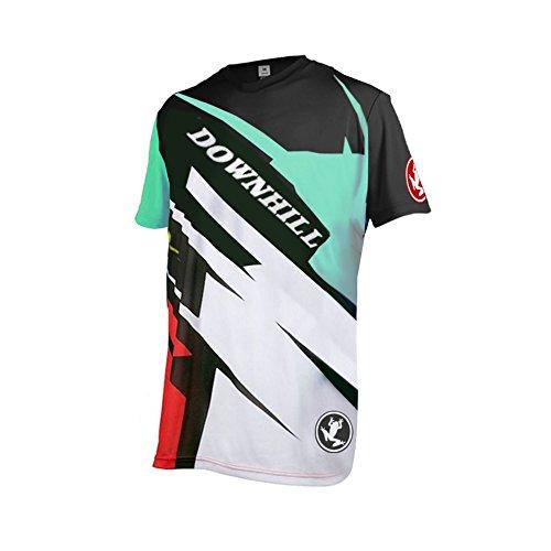 Uglyfrog Herren Outdoor Sport MTB Fahrradbekleidung Fahrradtrikot Radsport Kurzarmtrikot Radfahren Trikot Sommer Downhill Jersey