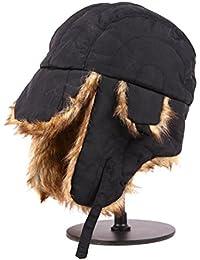 Ear Cappellino invernale autunno caldo ispessimento Cappello all aperto per  adulti  9e1e3b81ea04