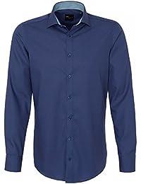 Venti Herren Anzughemd 162722500 Kentkragen tailliert 100% Baumwolle - Body Fit