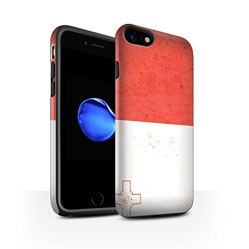 Coque Matte Robuste Antichoc de STUFF4 / Coque pour Apple iPhone 6 / Danemark/Danois Design / Drapeau Europe Collection Malte/Maltais