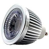 iluminize GU10 LED-Spot: treiberloser Hochvolt 230V COB LED-Spot, Reflektor und Optik, 6W, warm-weiß 3000K, 500 Lumen, dimmbar TRIAC 5%-100%, 50.000 Stunden Lebensdauer, 5 Jahre Garantie (3000K 60°)