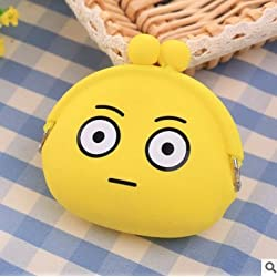 Skyeye Monedero Monedero del Diente Monedero Bolsa Monedero del Teléfono Simple Sra. Monedero Monedero del Estilo Emoji