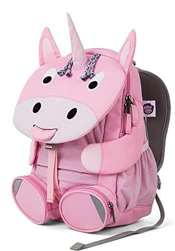 Am Tasche Kostüm Pan - Affenzahn Kinderrucksack für 3-5 Jährige im Kindergarten - Emilia Einhorn - Rosa