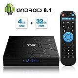 T9 Android 8.1 TV Box MaxDigi RK3328 Quad Core 4GB RAM 32GB ROM