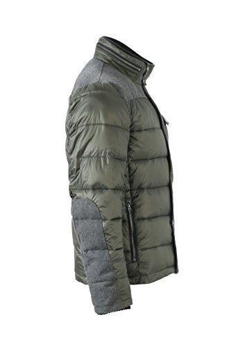 James & Nicholson Herren Jacke Jacke Winter Jacket Pine-Green