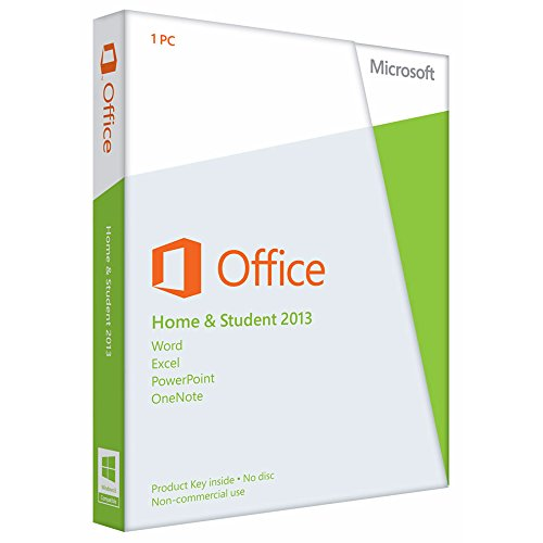 Microsoft Office Home and Student 2013 - 1PC (Product Key) - englisch [Download]