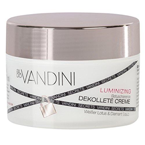 Aldo Vandini Weißer Lotus & Diamant Staub Luminizi ng Retuschierende Dekolletécreme 200 ml